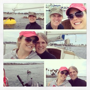 Tips for staying healthy sailing with mom